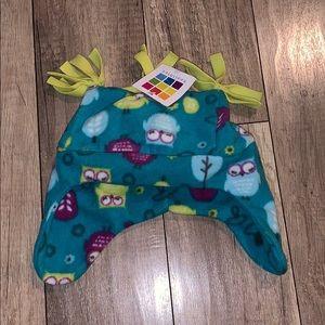 Girls healthtex toddlers owl winter snow cap hat